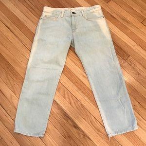Current/Elliott Bleach Out The Boyfriend Jeans